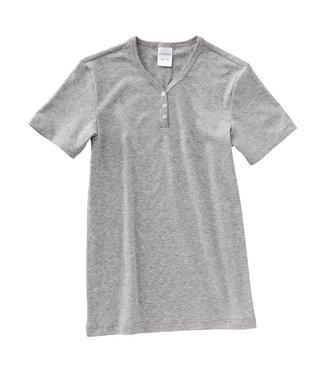 Schiesser Mädchen Shirt kurzarm grau-melange