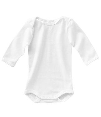 Schiesser Baby-Body langarm (2er Pack) weiss