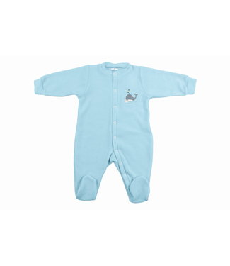 Zewi bébé-jou Baby Kombi Frottée-Strech Wally Whale