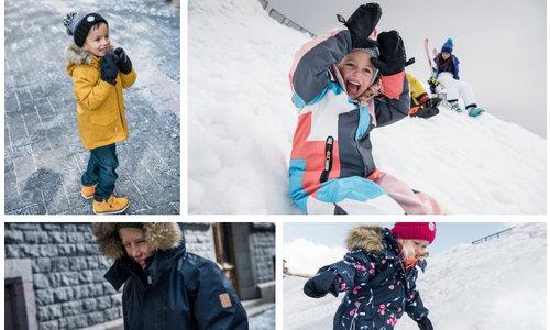 Winterkleidung für Kinder