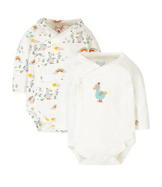 Frugi Baby Body 2er Pack Dodo