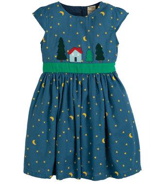 Frugi Kleid Sparkle & Shine moonlight/christmas town