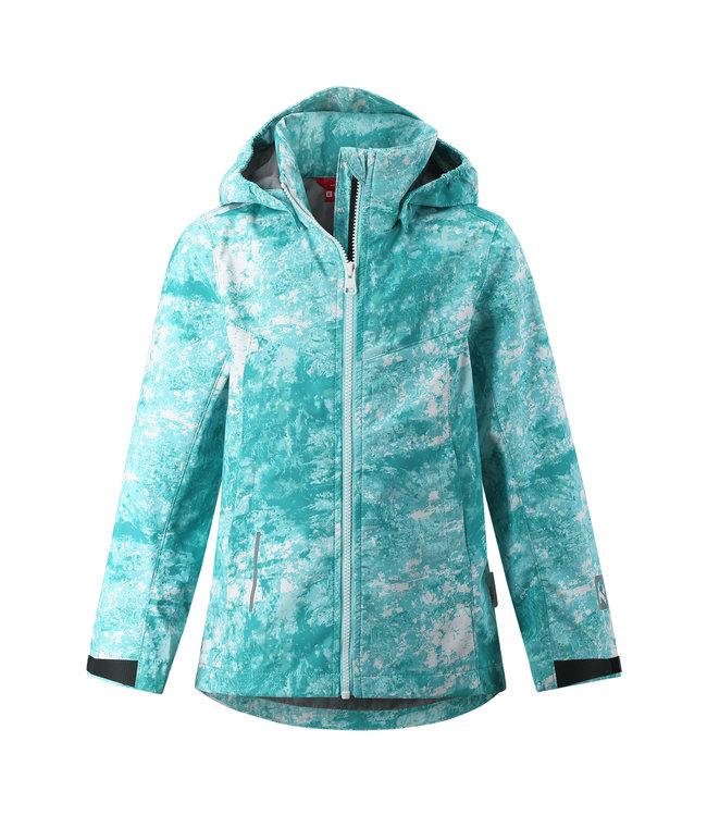 Reima Kinder Softshell Jacke Branten light turquoise