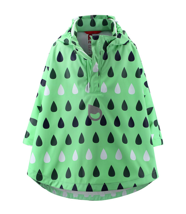 Reima Kinder Regencape Vesikko pale green