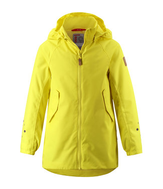 Reima -tec Kinder Regenjacke Galtby lemon yellow