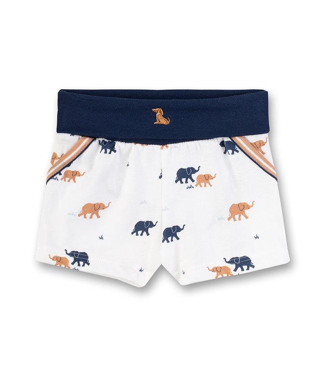 Sanetta Fiftyseven Baby Jungen Shorts Elefant