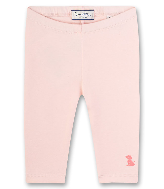 Sanetta Fiftyseven Baby Mädchen Leggings rosa