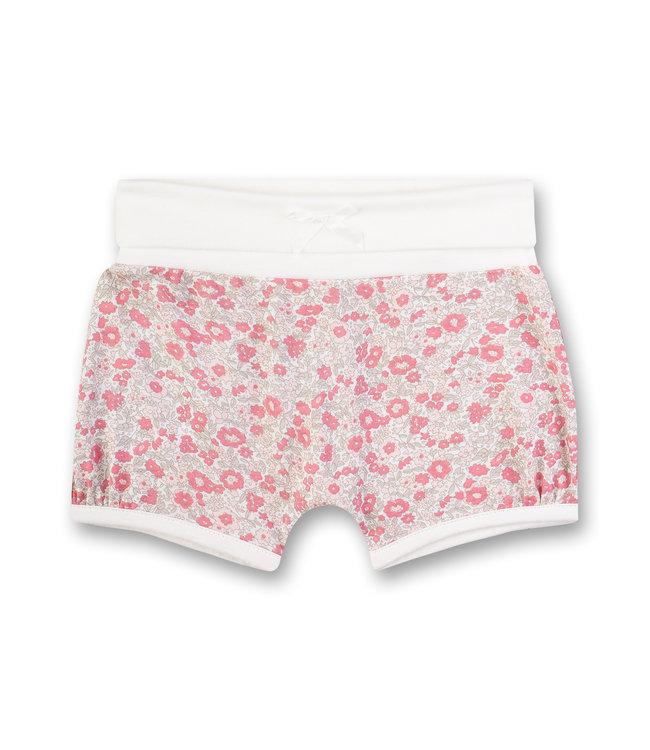 Sanetta Fiftyseven Baby Mädchen Shorts Blumen
