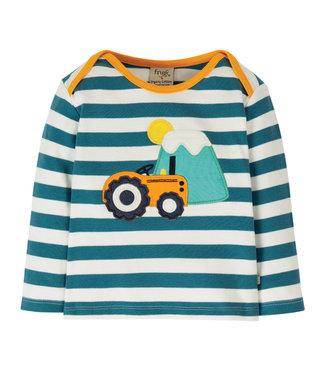 Frugi Kleinkinder Shirt Bobby Traktor