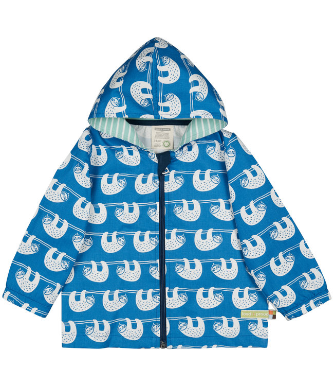 Loud and Proud Kinder Outdoorjacke cobalt