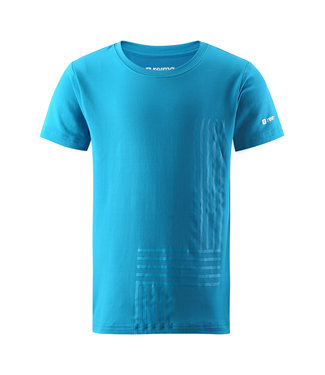 Reima Kinder T-Shirt Speeder blue sea