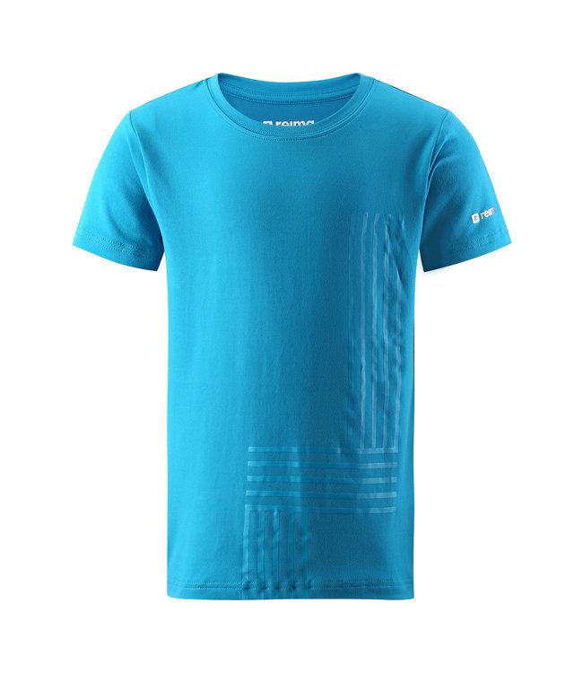 Reima Kinder T-Shirt Speeder blue sea