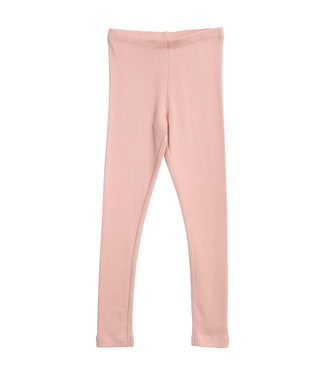 Wheat Mädchen Rib Leggings soft rose
