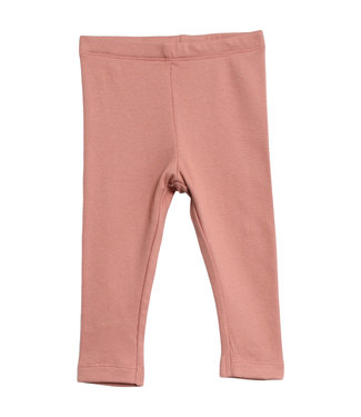 Wheat Baby Leggings soft peach rose