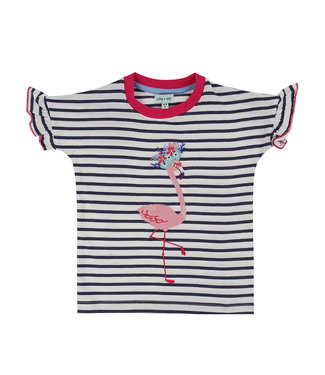 Lilly and Sid Mädchen T-Shirt Flamingo