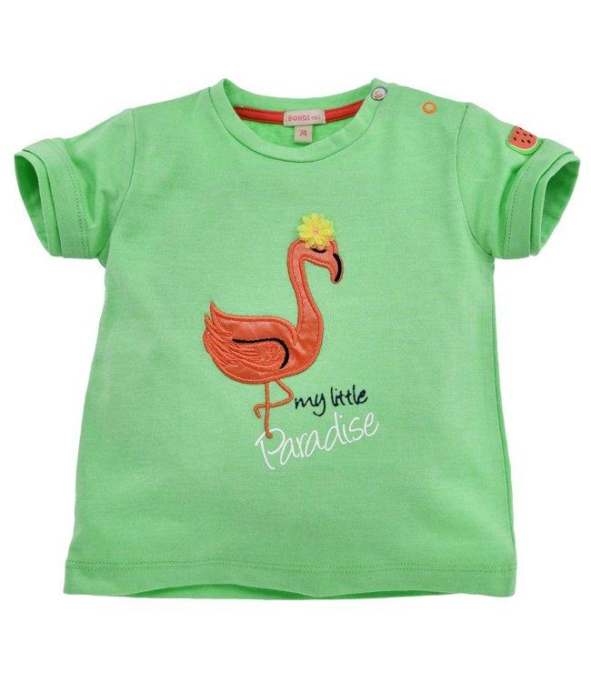 Bondi Kleinkinder T-Shirt Flamingo