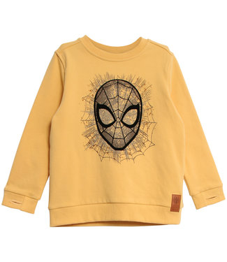 Wheat Jungen Pullover Spider Man Face
