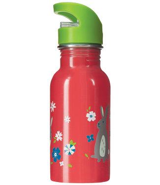 Frugi Kinder Trinkflasche watermelon Bunny