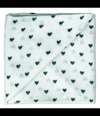 Zewi bébé-jou Baby-Gaze grün Herzen