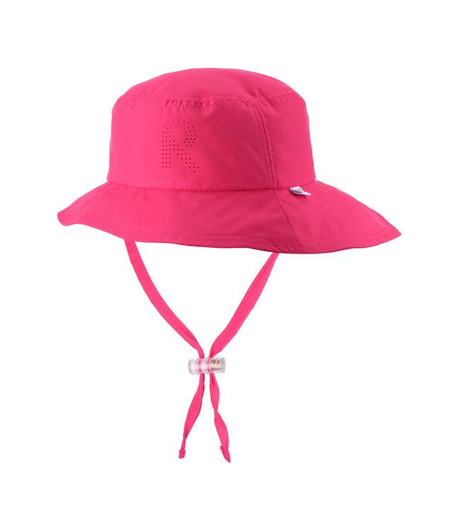 Reima Kinder Sonnenhut Tropical berry pink