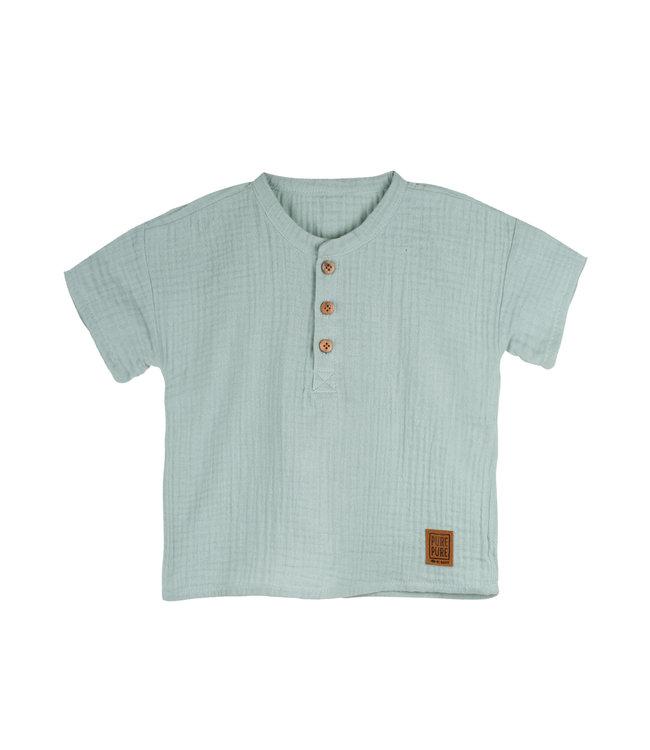 Pure Pure Kleinkinder T-Shirt pfefferminz