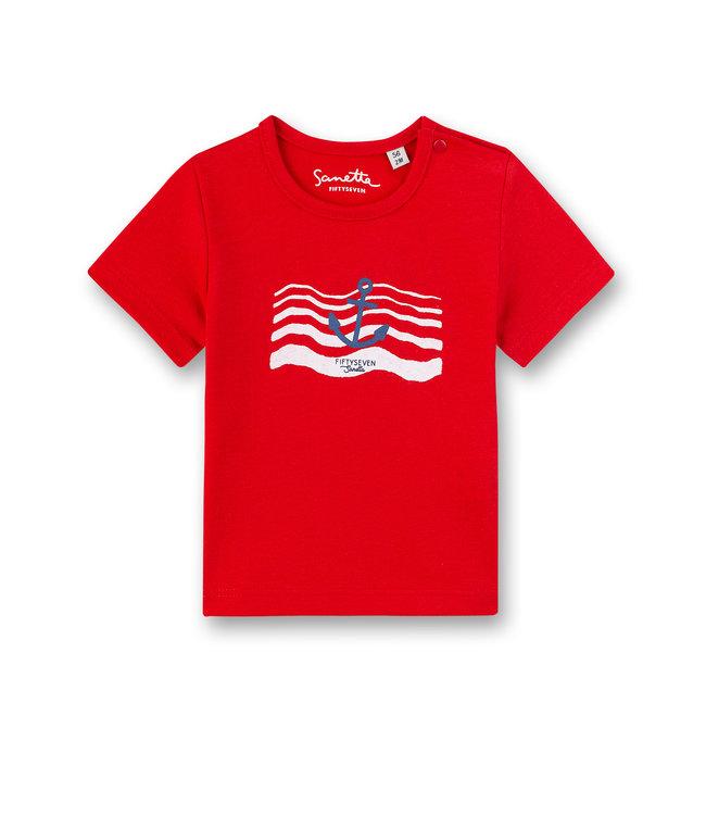 Sanetta Fiftyseven Baby Jungen T-Shirt Small Sailor