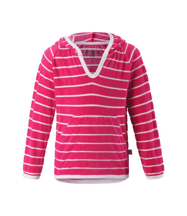 Reima Kleinkinder Frottee Sweatshirt Dyyni berry pink