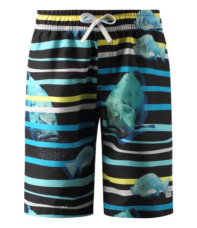 Reima Jungen UV Badeshorts Cancun cyan blue