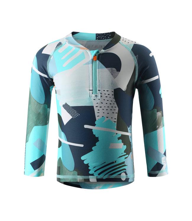 Reima Kleinkinder UV T-Shirt Tuvalu light turquoise