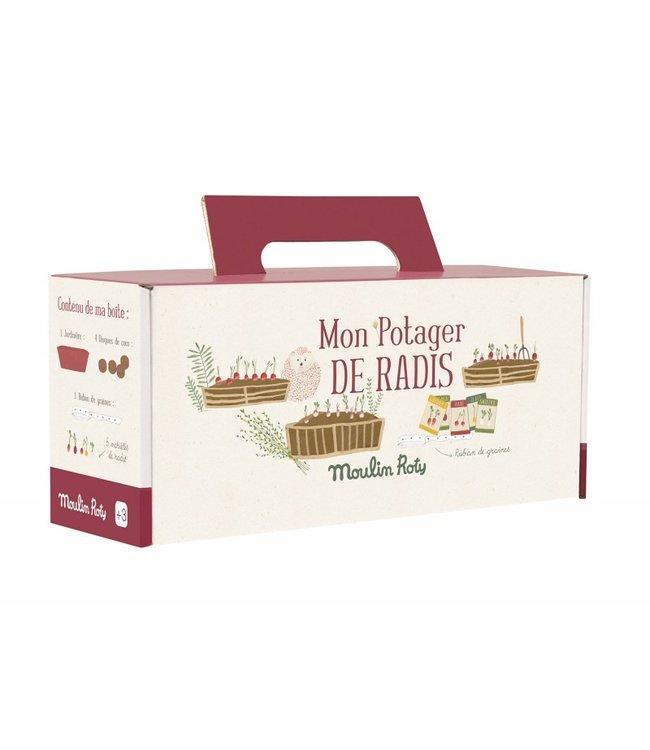 Moulin Roty Pflanzenset Radieschen