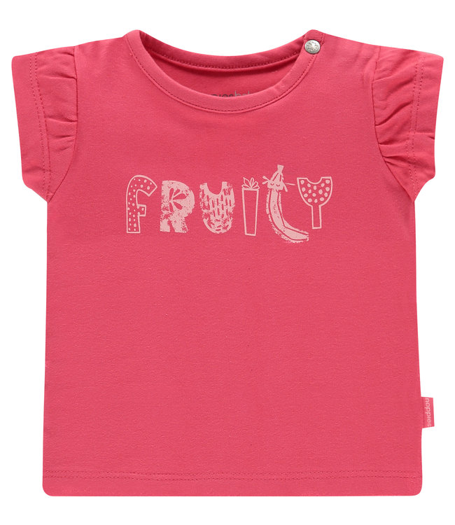 Noppies Baby T-shirt Chicago rouge red