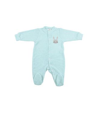 Zewi bébé-jou Baby Kombi Frottée-Strech mint Hase