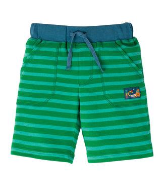 Frugi Jungen Shorts Stripy  green