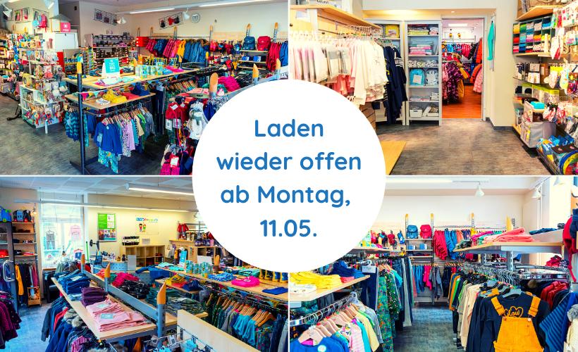 Wiedereröffnung KidsDeam Ladenlokal
