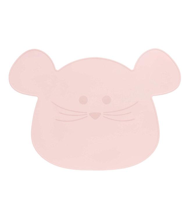 Lässig Kinder Tischset Maus rosa