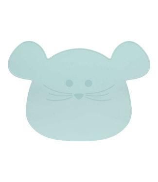 Lässig Kinder Tischset Maus blau