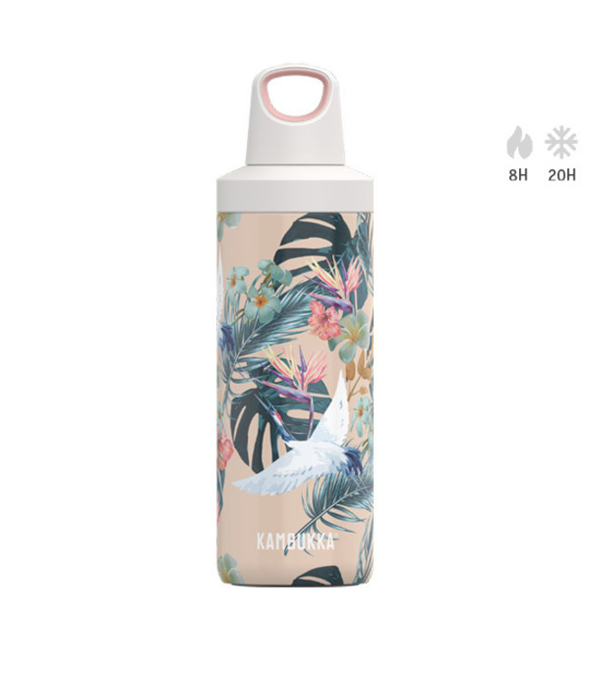 Kambukka Trinkflasche Reno Insulated 500 ML Paradise Flower