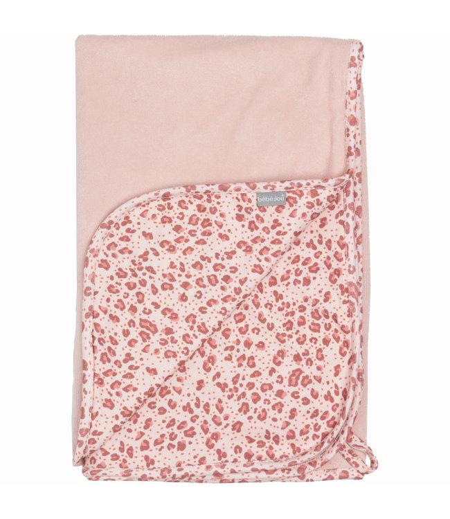 Zewi bébé-jou Kuscheldecke pink Leopard