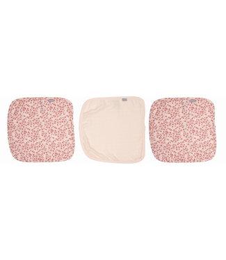 Zewi bébé-jou Muslin Tücher 3 Stk. pink Leopard