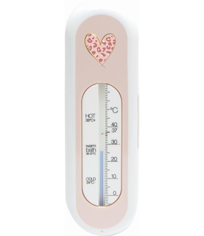 Zewi bébé-jou Badethermometer pink Leopard