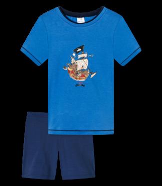 Schiesser Jungen Schlafanzug kurz Capt´n Sharky
