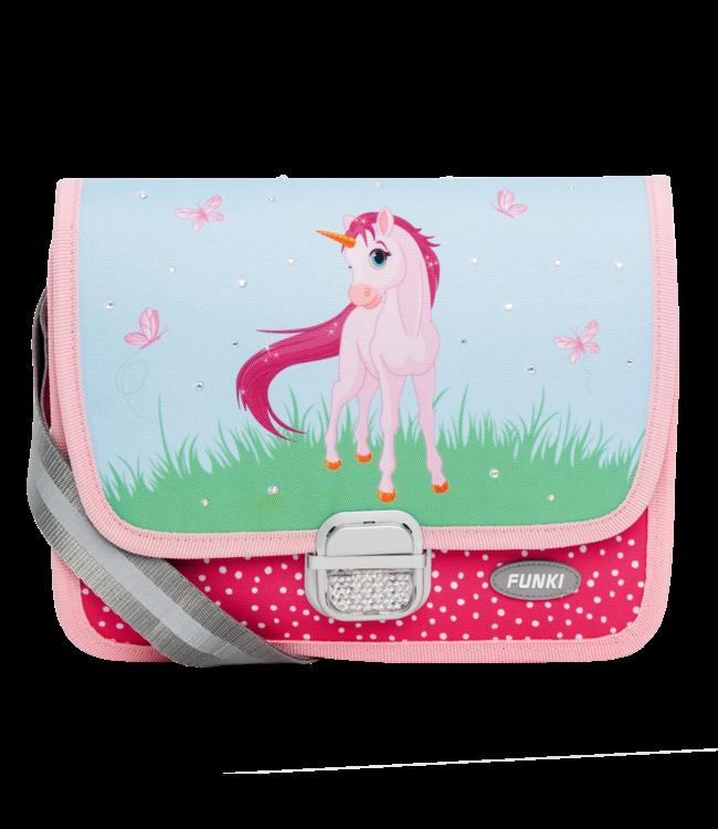 Funki Kindergartentasche Einhorn pink