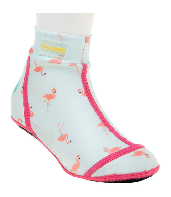 Duukies Beachsocks Flamingo mint