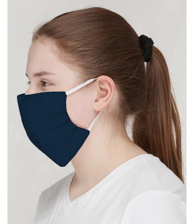 Loud and Proud 3 Stk. Mund- und Nasenmaske uni ultramarine
