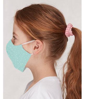 Loud and Proud 3 Stk. Kinder Mund- und Nasenmaske mint