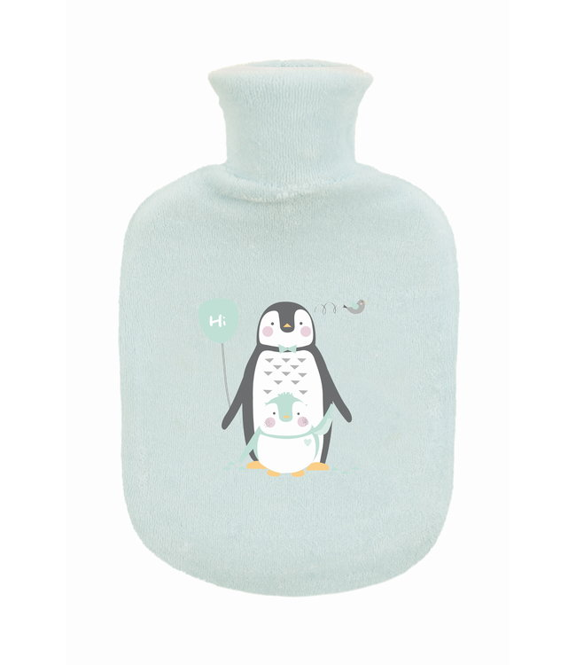 Zewi bébé-jou Gummibettflasche mit Frottébezug