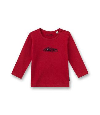Sanetta Fiftyseven Baby Jungen Shirt Auto rot