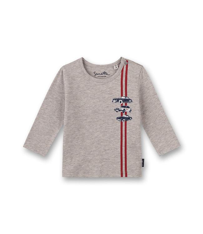 Sanetta Fiftyseven Baby Jungen Shirt Autos grau
