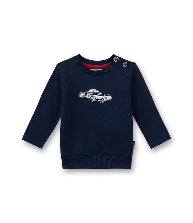 Sanetta Fiftyseven Baby Jungen Sweatshirt Vintage Cars
