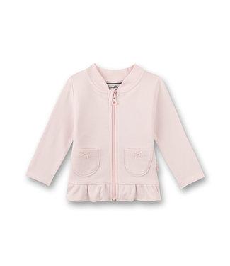 Sanetta Fiftyseven Baby Mädchen Sweatjacke rosa